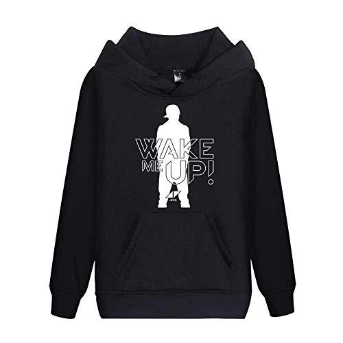 KJYAYA DJ Avicii Langarm Hoodie Lässiger Wilder Pullover Für Erwachsene Trendige Herren- Und Damenmode-Sweatshirts