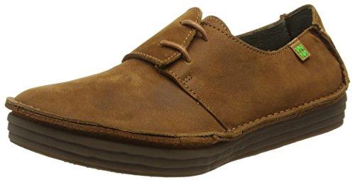 El Naturalista Nf80 Pleasant Rice Field, Zapatos de Cordones Derby para Mujer, Marrón (Wood), 41 EU