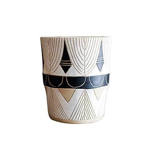 WYH Persoonlijkheid Bloem Pot Voetstuk Tall Bloem Pot Bloem Vaas Art Deco Tuin Decoratie Glad