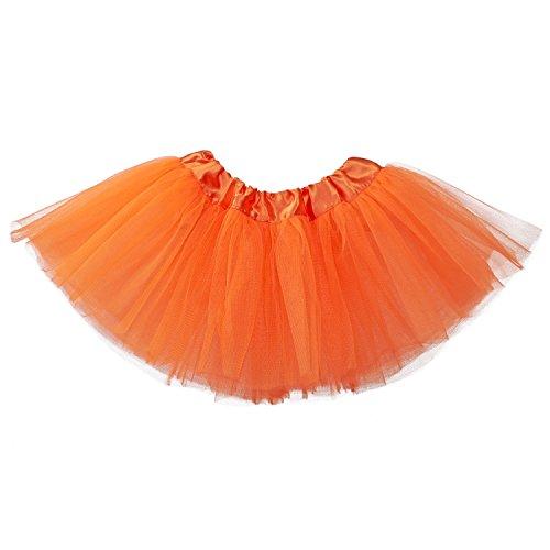My Lello Baby 5-Layer Ballerina Tulle Tutu Orange (0-3 mo.)
