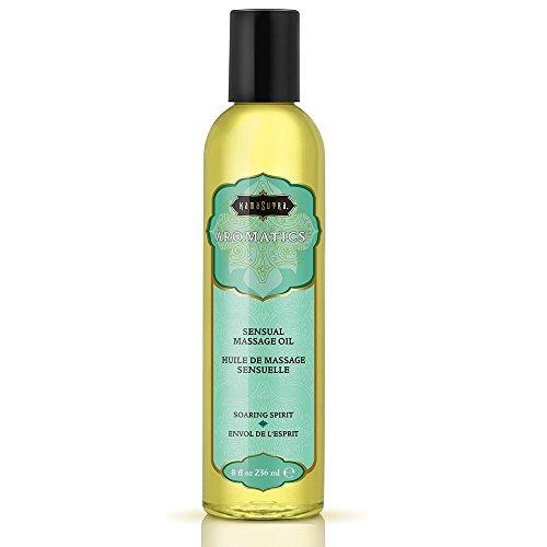 Kama Sutra Aromatic Massage Oil, Scent - Soaring Spirit(8 fl. oz)