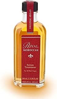 Royal Moroccan Hair Oil Formula - Hair Serum Treatment (100 ml) - Base of Moroccan Argan oil, For color – Treated Hair, For Dry Hair