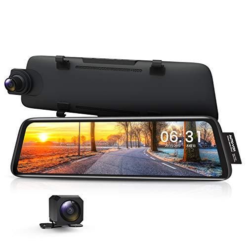 AUTO-VOX ドライブレコーダー 前後カメラ 前後1080P 右ハンドル仕様 ノイズ対策 デジタルインナーミラー 駐...