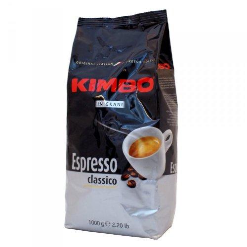 Kimbo Espresso Kaffee Classico, Bohne, 1000g Packung