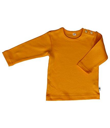 rescence naturel/Baby-Kinder - Haut à manches longues - Coque - Uni - Bébé (fille) - jaune - 98/104 cm