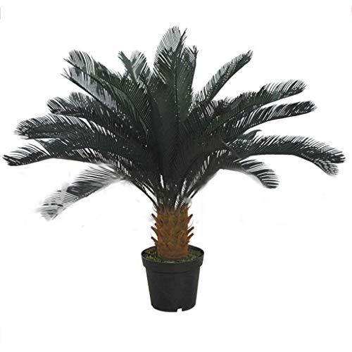 Simulation d'arbre de fer Faux arbre Simulation plante verte Grand écran de plancher décoratif Arbre de fer sans bassin (Taille : 130cm)
