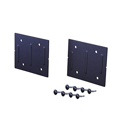 平安伸銅工業 LABRICO DIY収納パーツ ジョイント アイアン 屋外使用可 ブラック IXK-4