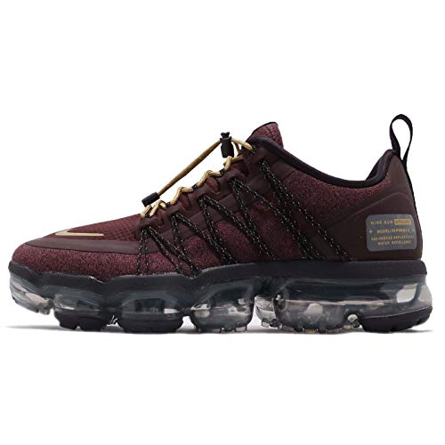Nike Women's WMNS Air Vapormax Run Utility (5, Burgundy Crush/Metallic Gold)