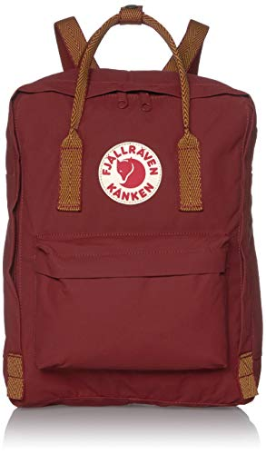 Fjallraven Kånken Zaino, Unisex – Adulto, Ox Red-Goose Eye, Taglia unica