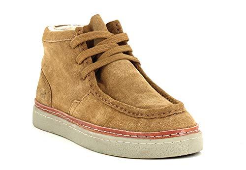 Stolla, Damen Sneakers High, Braun - camel - Größe: 37 EU