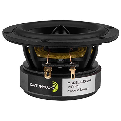 Dayton Audio RS100-4 4'' Reference Full-Range Driver 4 Ohm