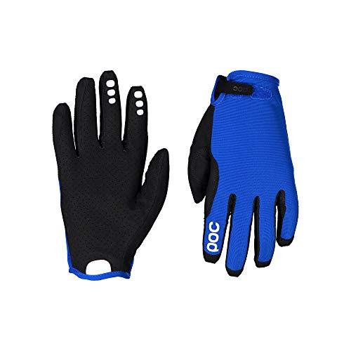 POC Unisex– Erwachsene Resistance Enduro ADJ Glove Fahrradhandschuhe, Light Azurite Blue, M