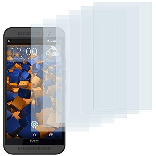 mumbi Schutzfolie kompatibel mit HTC One M9 Folie klar, Bildschirmschutzfolie (6X)