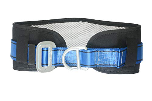HEEJO Safety Harness, Climbing Belt, with Hip Pad & D Rings, Personal Protective Equipment Fall Arrest Safety Harnesses