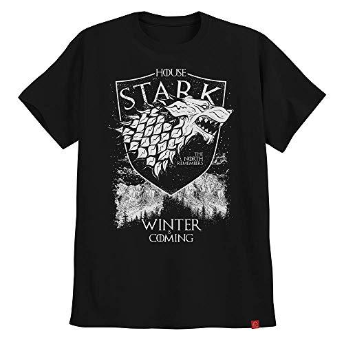Camiseta Game Of Thrones Casa Stark Winter Is Coming North M