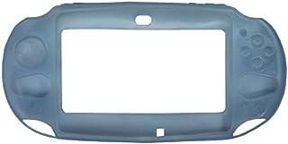 OSTENT Capa protetora de silicone macia compatível com Sony PS Vita PSV PCH-2000 - Cor azul claro