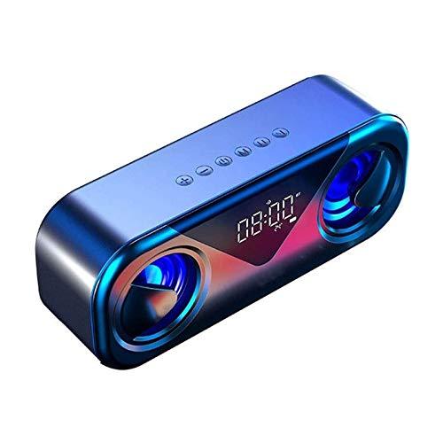 HKJZ SFLRW Altavoz Bluetooth, Altavoz al Aire Libre, portátil, Impermeable, inalámbrico, Bluetooth 5.0,20H Tiempo de Juego para el hogar, Fiesta