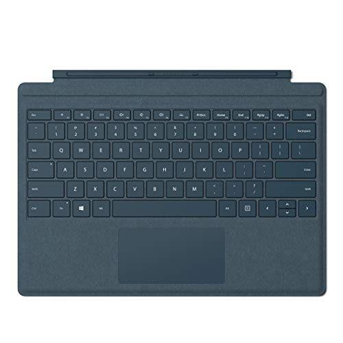 Surface Pro Signature Type Cover QWERTY Blue Microsoft Cover Port