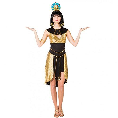 Kostüm Ägypterin Goldschimmer Gr. 34/36 Cleopatra Kleid Fasching Karneval Altes Ägypten