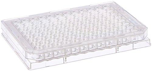 Nunc 96 Well Hydrocell Mikroplatte, flach, 400 µl Volumen, 8 Stück