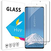 Huy Galaxy A51 5G 用のガラスフイルム galaxy a51 5g用の フイルム【2枚セッ】 日本旭硝子製 強化ガラス 液晶 保護フィルム 貼り付け簡単 硬度9H 防指紋 透過率98.5%
