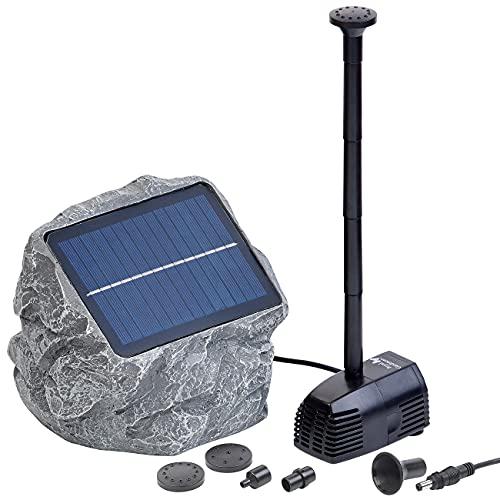 Royal Gardineer Solar Teichpumpe: Solarbetriebene Teichpumpe Biosphere (Solar Springbrunnen)