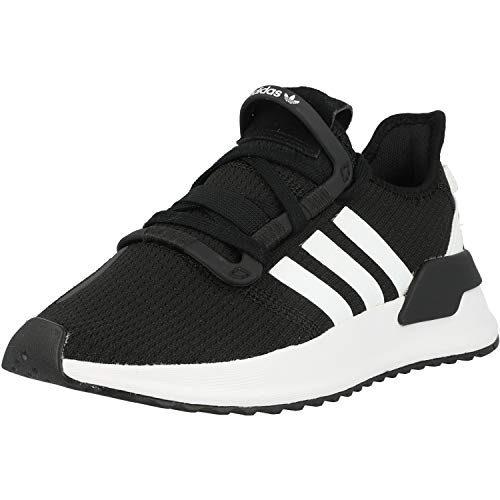 adidas U_Path Run, Sneaker Unisex Adulto, Core Black/Footwear White/Shock Red, 38 2/3 EU