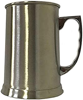 NEW Double - Wall Stainless Steel 14oz Large Beer Stien by Space Connection (1)