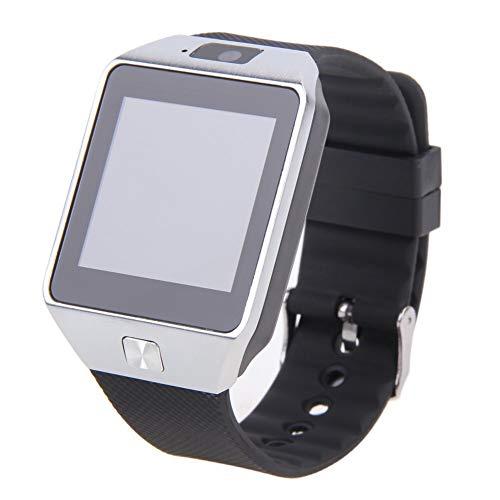 Simshew Fitness-Tracker Smart Watch Armbanduhr New DZ09 mit Kamera Bluetooth Wasserdichtes Fitness-Armband Touchscreen Fitness-Uhr SIM-Karte Smartwatch Herzfrequenz- und Schlafüberwachung