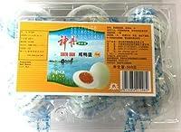 ゆで塩卵 神丹咸鸭蛋 咸蛋 6個入り 油黄 都商事 総重量約420克 净重量360克 6个咸蛋分别用袋包装 写真の賞味期限は撮影時のものです。実際とは違う場合があります。