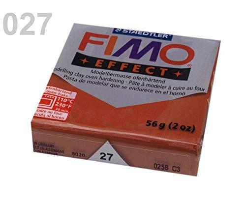 1pc Rosso-marrone Metalizzato FIMO Polimero Argilla da modellare 56-57g Effetto, Craft & Hobby