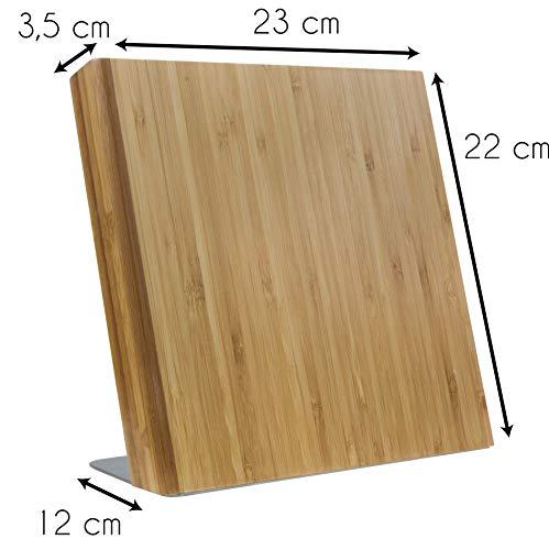 Coninx Quin Magnetischer Messerblock Holz - 7