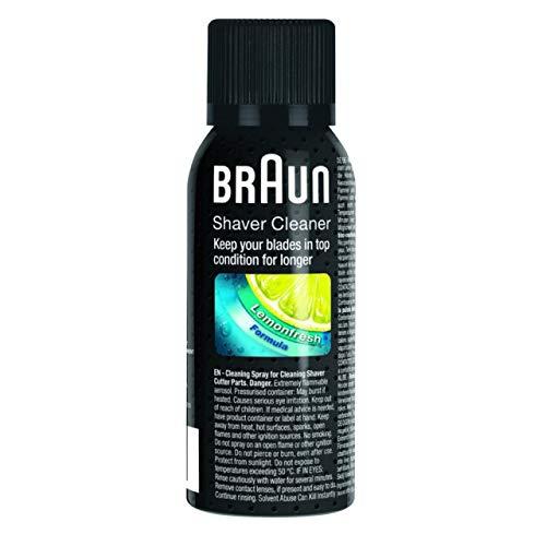 Braun Rasierer Reinigungsspray – 6er Pack