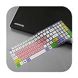 Funda protectora para teclado de ordenador portátil Acer Predator Helios 300 15 6' 17 3' G3 571 G3 572 Ph315 51 Ph317 52 Vx5 591G Vn7 793G talla única candypink