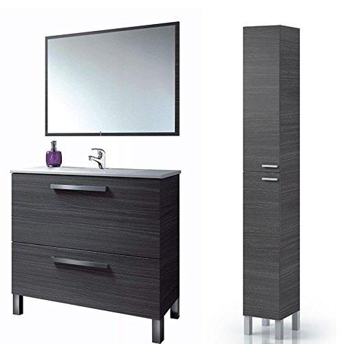 Mueble de Lavabo con Grifo Incluido + Espejo + Lavabo , Mod...