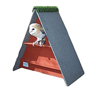 barn owl nest box (Cedar Red)