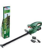 Bosch Home and Garden Accuheggenschaar EasyHedgeCut 18-45 (1 accu 2,0 Ah, 18 Volt System, meslengte 45 cm, in kartonnen doos), Groen