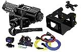 KFI SE25 2500lb Stealth Winch & 101840 Winch Mount kit fits 2014-2020 Polaris Sportsman 570