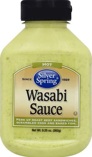 Silver Springs Sauce Wasabi, 9.25 oz