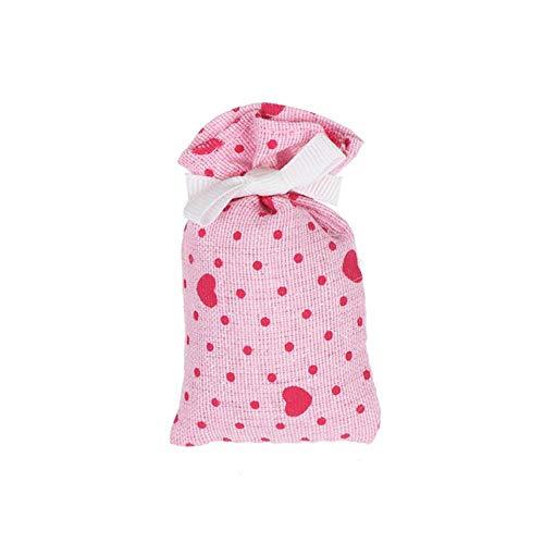 Gouen 1 stksstof borduren verse kleine zakje thuis garderobe deodorant ontvochtiging zakje aromatherapie kast luchtverfrisser, jasmijn