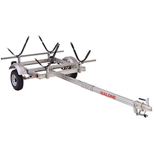 Buy Bargain Malone EcoLight 2-Boat J-Rack Kayak Trailer Package