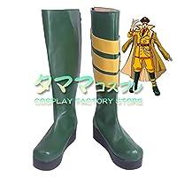 パンドラズ・アクター オーバーロード OVER LORD pandora's actor コスプレ 靴 ブーツ コスプレ靴 cosplay オーダーサイズ/スタイル 製作可能 【タママ】(26.5cm)