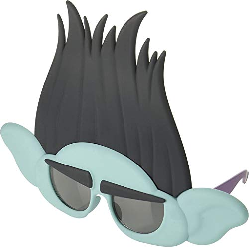 Costume Sunglasses Trolls Branch Sun-Staches Party Favors UV400