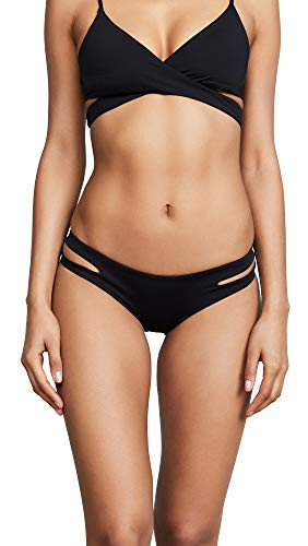 LSpace Women's Estella Bikini Bottoms, Black, Medium