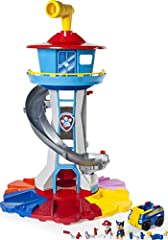 At over two and a half feet tall, this tower is the perfect size for a child's imagination. Let your little one's ideas run wild as they recreate their favourite scenes from Paw Patrol Paw Patrol My Size Lookout Tower comes with interactive lights an...