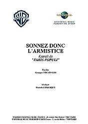 SONNEZ DONC L\'ARMISTICE