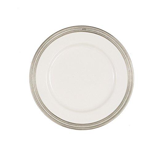 Arte Italica Tuscan Dinner Plate, White