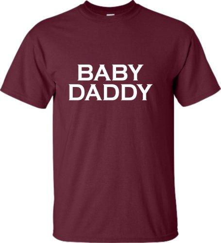 Go All Out - Camiseta para Adulto con Texto en inglés Baby Daddy New Father