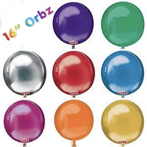 Great Deal! Cutdek Orb Balloons ~ Chrome Sphere Balloons, Round Balloons, Globos, All Colors, Orbz B...