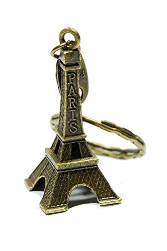 Unbekannt Eifelturm aus Paris Schlüsselanhänger Stadt der Liebe | Geschenk | Frankreich | Frauen | Damen | Reise | Love |